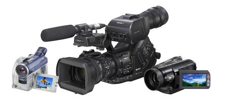 ремонт видеокамер сони в москве